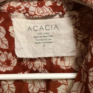 acacia swimwear Tops - Acacia Rust Magnolia Olinda Top ONLY sz P